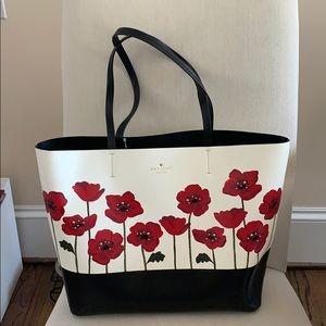 Kate Spade Ooh La La Leather Poppy Little Len Bag